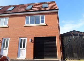 Thumbnail 3 bed semi-detached house for sale in Bells Marsh Road, Gorleston, Great Yarmouth