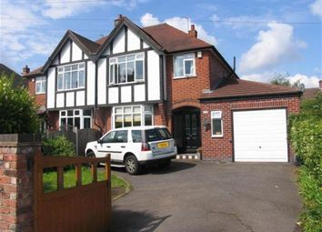 Thumbnail 3 bed semi-detached house to rent in Bramcote Lane, Beeston, Nottingham