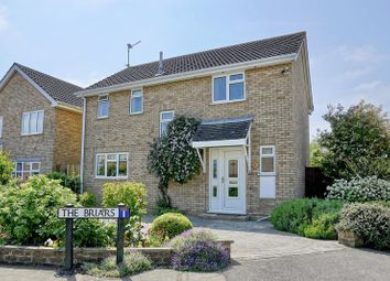 Thumbnail 4 bed detached house for sale in The Briars, Sawtry, Huntingdon, Cambridgeshire.