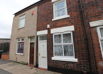 Thumbnail 2 bed terraced house for sale in Goldenhill Road, Fenton