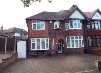 Thumbnail 4 bed semi-detached house for sale in Lloyd Road, Handsworth Wood, Birmingham, West Midlands