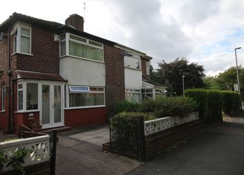 Thumbnail 3 bed semi-detached house for sale in Burnage Lane, Burnage, Manchester