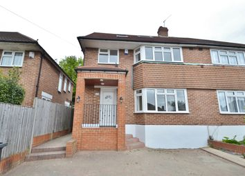 Thumbnail 4 bed semi-detached house to rent in Morton Way, Southgate