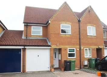 Thumbnail 3 bed semi-detached house to rent in Darent Place, Didcot, Didcot, Oxfordshire