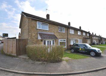 Thumbnail 3 bed end terrace house for sale in Elbow Lane, Longmeadow, Stevenage, Herts