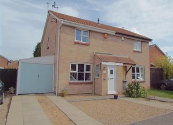 Thumbnail 3 bed semi-detached house for sale in Manor Drive, Leicester, Leicestershire