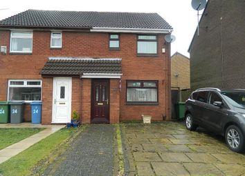 Thumbnail 2 bed semi-detached house to rent in Bradbourne Close, West Derby, Liverpool