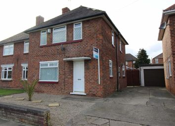Thumbnail 3 bed semi-detached house for sale in Glendale Road, Middlesbrough