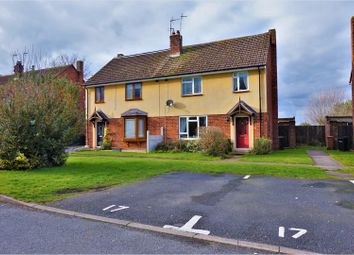Thumbnail 3 bed semi-detached house for sale in Manor Crescent, Hawarden