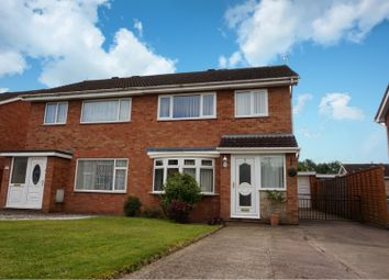 Thumbnail 3 bed semi-detached house for sale in Kingfisher Close, Shrewsbury