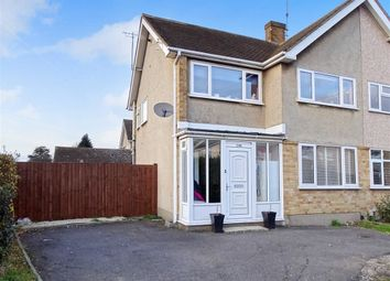 Thumbnail 3 bed semi-detached house for sale in Taunton Road, Chelmsford, Essex