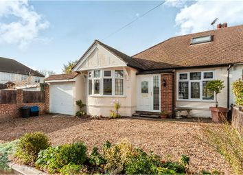 Thumbnail 4 bed semi-detached bungalow for sale in Glasbrook Avenue, Twickenham