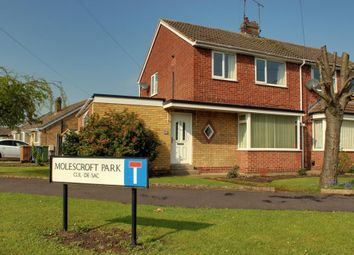 Thumbnail 4 bed semi-detached house for sale in Molescroft Park, Beverley