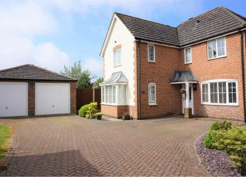 Thumbnail 4 bed detached house for sale in Lavender Drive, Downham Market