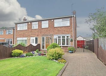 Thumbnail 3 bed semi-detached house for sale in Clough Garth, Hedon, Hull