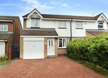 Thumbnail 3 bed semi-detached house to rent in Crossfield Park, Felling, Gateshead