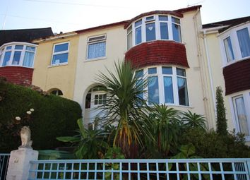 Thumbnail 3 bed terraced house for sale in Florida Road, Torquay