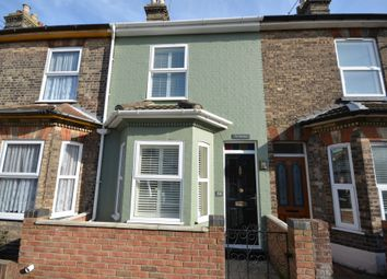 Thumbnail 2 bed terraced house for sale in Queens Road, Lowestoft, Suffolk