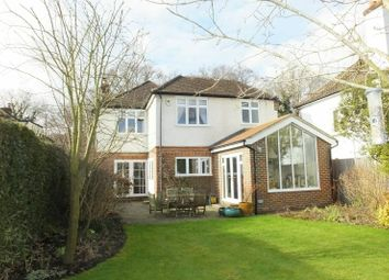 Thumbnail 4 bed detached house for sale in Westfield Road, Woking