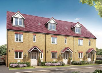 "Thumbnail 4 bedroom terraced house for sale in ""The Leicester "" at Hadham Road, Bishop's Stortford"