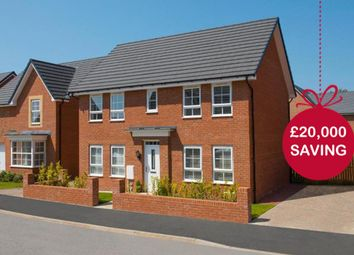 "Thumbnail 4 bed detached house for sale in ""Thornbury"" at Tenth Avenue, Morpeth"
