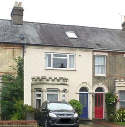 Thumbnail 4 bed terraced house to rent in Cherry Hinton Road, Cambridge