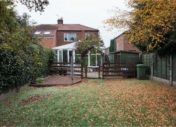 Thumbnail 3 bedroom semi-detached house for sale in Aldermere Crescent, Manchester