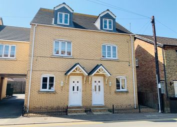 Thumbnail 3 bed town house for sale in Eastgate, Whittlesey, Peterborough