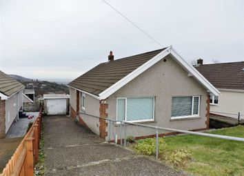 Thumbnail 3 bed detached bungalow for sale in Gellifawr Road, Morriston, Swansea