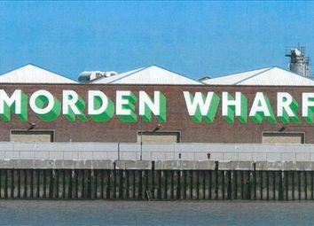 Thumbnail Warehouse to let in Morden Wharf, Greenwich Peninsula, Greenwich, London