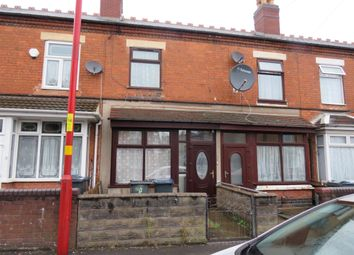 3 bed terraced house for sale in Nineveh Road, Handsworth, Birmingham B21