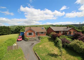 Thumbnail 3 bed detached bungalow for sale in Llangammarch Wells, Powys