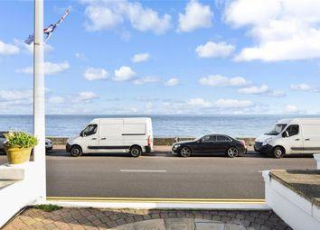 Thumbnail 2 bed maisonette for sale in Wellington Terrace, The Esplanade, Sandgate, Folkestone, Kent