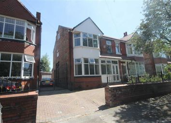 Thumbnail 6 bed semi-detached house for sale in Northmoor Road, Longsight, Manchester