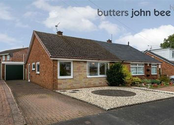 Thumbnail 2 bed semi-detached bungalow for sale in Marlborough Road, Stone, Staffordshire