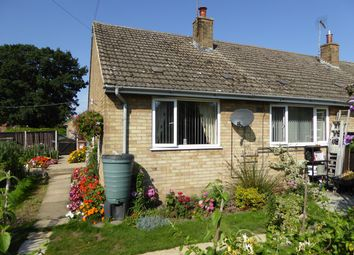 Thumbnail 2 bed bungalow for sale in The Causeway, Stow Bridge, King's Lynn