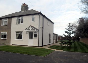 Thumbnail 3 bed semi-detached house to rent in Lynn Road, Ely