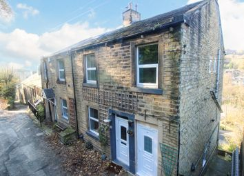 Thumbnail 1 bed end terrace house for sale in Back Lane, Holmfirth