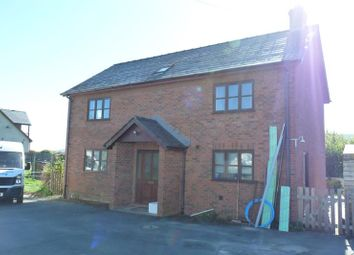 Thumbnail 5 bed detached house to rent in Mynydd View, Bronllys, Brecon