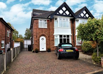 Thumbnail 3 bed semi-detached house for sale in Burnside Drive, Bramcote, Nottingham