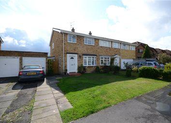 Thumbnail 3 bed semi-detached house for sale in Woburn Avenue, Farnborough, Hampshire