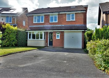 Thumbnail 4 bedroom detached house for sale in The Cornfields, Basingstoke