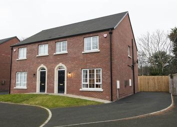 Thumbnail 3 bed semi-detached house for sale in 6, Rhanbuoy Mews, Carrickfergus