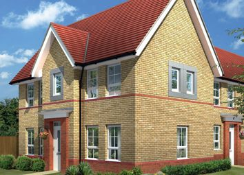 "Thumbnail 3 bed detached house for sale in ""Morpeth"" at Harbury Lane, Heathcote, Warwick"