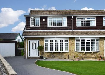 Thumbnail 3 bed semi-detached house for sale in Foster Park Road, Denholme, Bradford, West Yorkshire