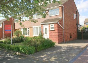 Thumbnail 3 bed semi-detached house for sale in Claxton Avenue, Darlington