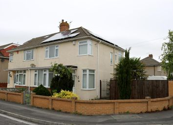 Thumbnail 3 bedroom semi-detached house for sale in Earlham Grove, Weston-Super-Mare