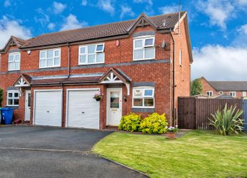 Thumbnail 3 bed semi-detached house for sale in Waterbrook Way, Bridgetown, Cannock