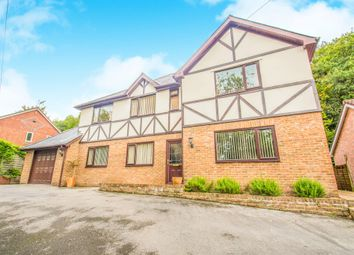 Thumbnail 4 bed detached house for sale in Lon Stephens, Taffs Well, Cardiff