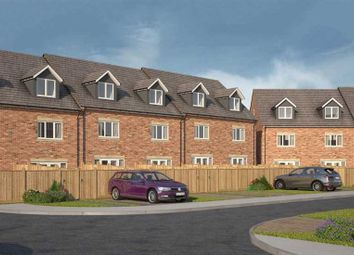 Thumbnail 3 bedroom town house for sale in Tantallon Court, Dudley, Cramlington